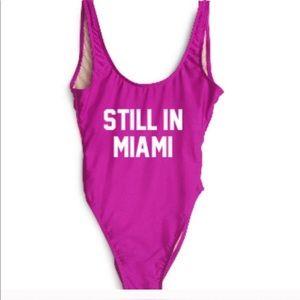 Private party small / medium still in Miami suit
